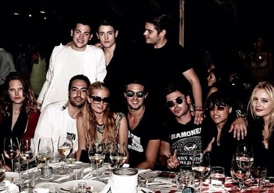 Paris Hilton, Zac Efron, Michelle Rodriguez