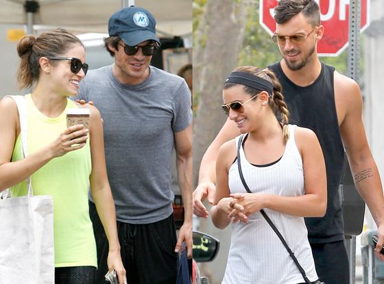 Ian Somerhalder, Nikki Reed, Lea Michele, Matthew Paetz, Summer Couples