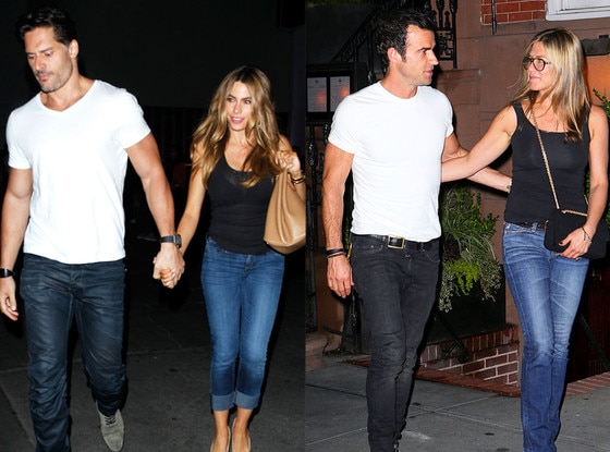 Summer Couples, Sofía Vergara, Joe Manganiello, Jennifer Aniston, Justin Theroux