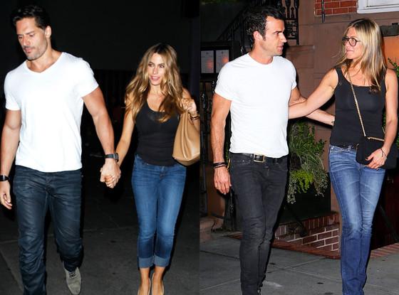 Summer Couples, Sofía Vergara, Joe Manganiello, Jennifer Aniston, Justin Theroux