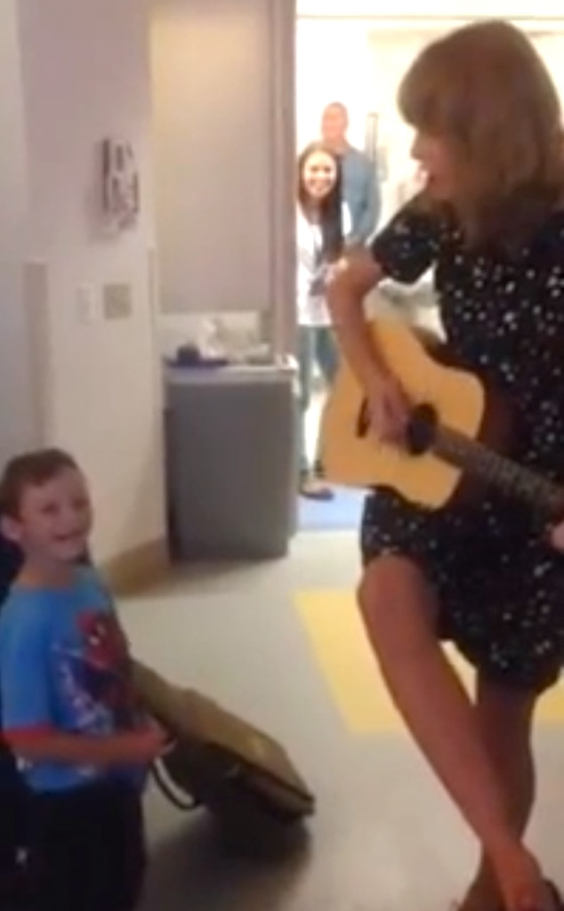 Taylor Swift, Boston Children's Hospital, Jordan Brave
