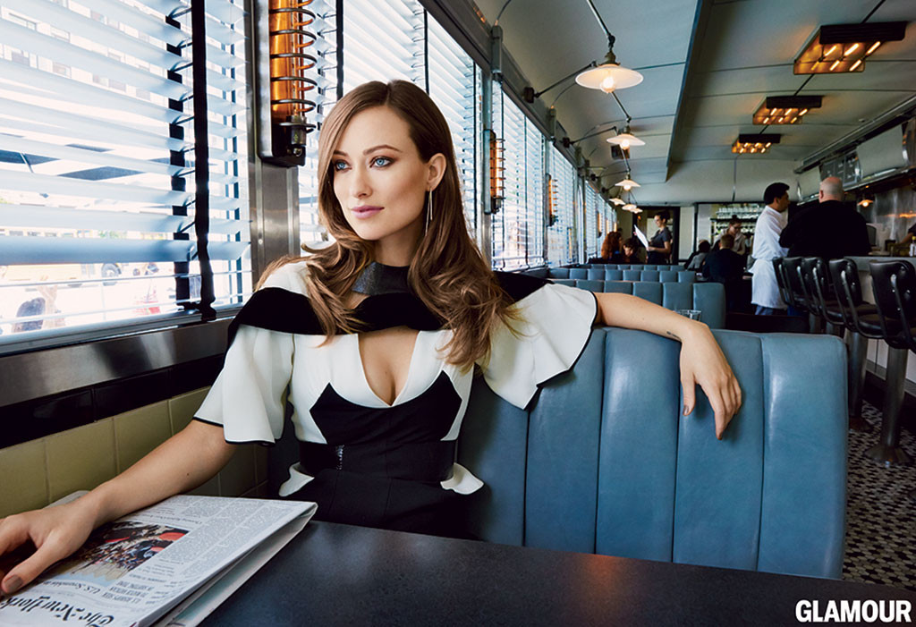 olivia wilde breastfeeds otis in glamour 39 s september issue see her sweet mother son pics e news. Black Bedroom Furniture Sets. Home Design Ideas