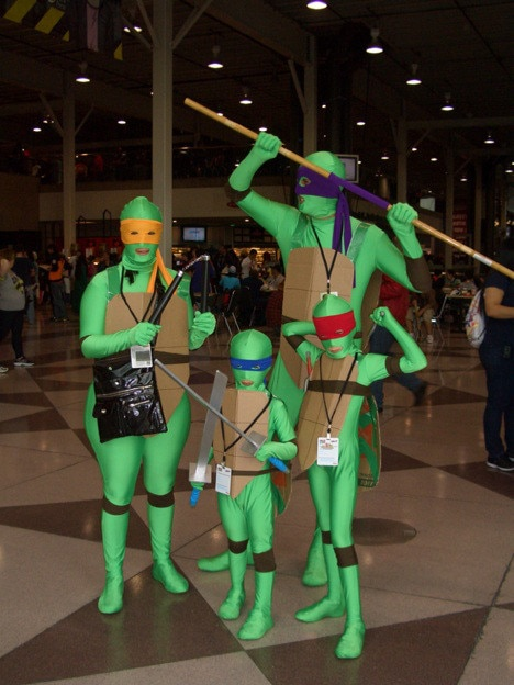 Turtles Cosplay From Terrible Teenage Mutant Ninja Turtles