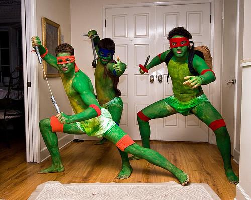 Teenage mutant ninja turtles cosplay