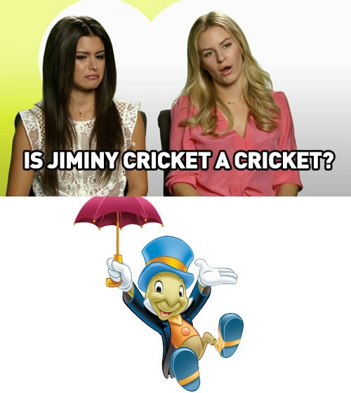 Jiminy Cricket from Is Winnie the Pooh a Bear And Other Important