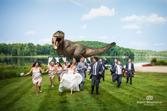 Jeff Goldbloom, Jurassic Park Wedding
