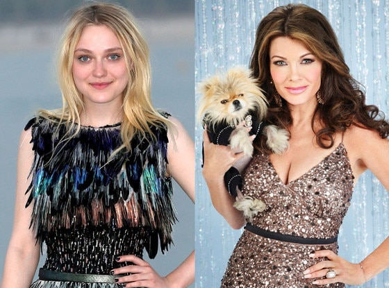 Dakota Fanning, Lisa Vanderpump