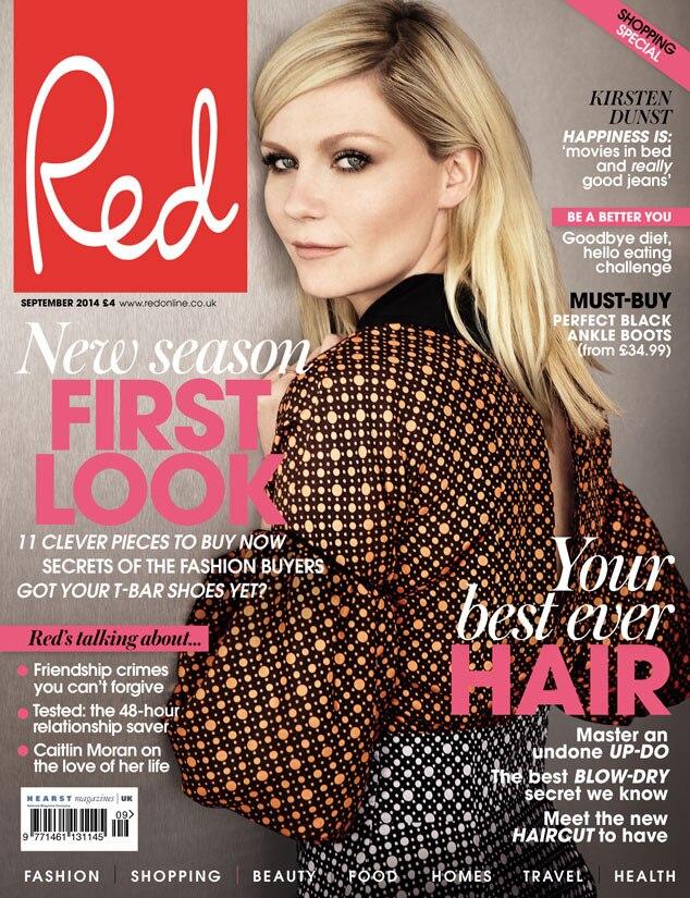 Kirsten Dunst, Red Magazine