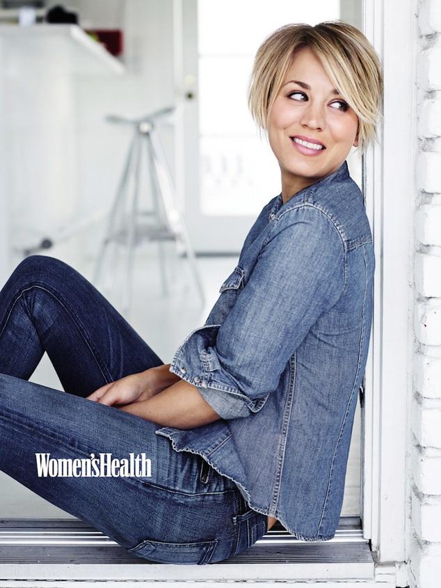 Kaley Cuoco, Women's Health