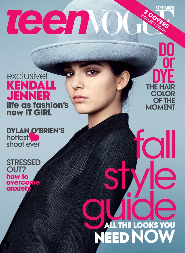 Kendall Jenner, Teen Vogue September 2014