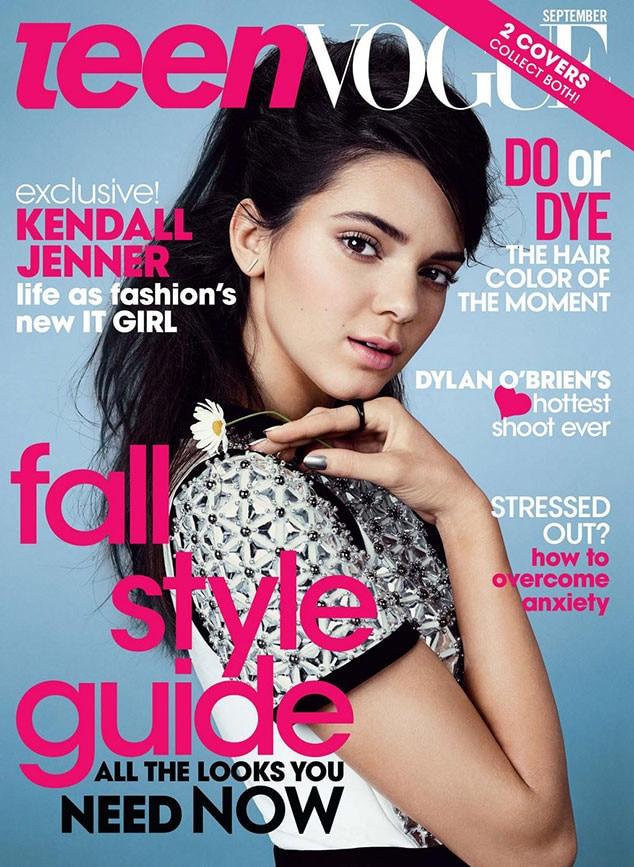 Kendall Jenner, Teen Vogue September 2014