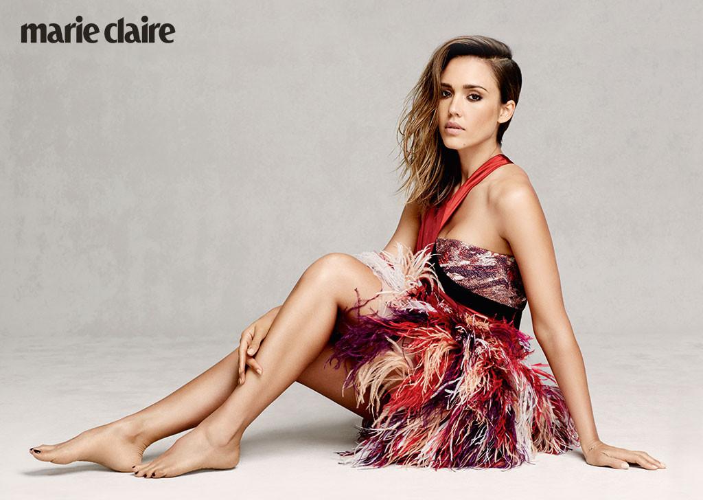 Jessica Alba, Marie Claire, September 2014