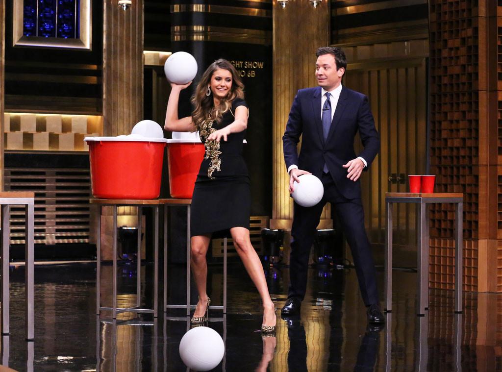 Nina Dobrev, Tonight Show