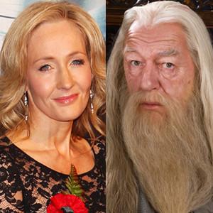 JK Rowling, J.K. Rowling, Dumbledore