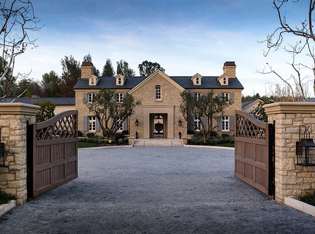 Kim Kardashian, Kanye West, Hidden Hills Estate, House