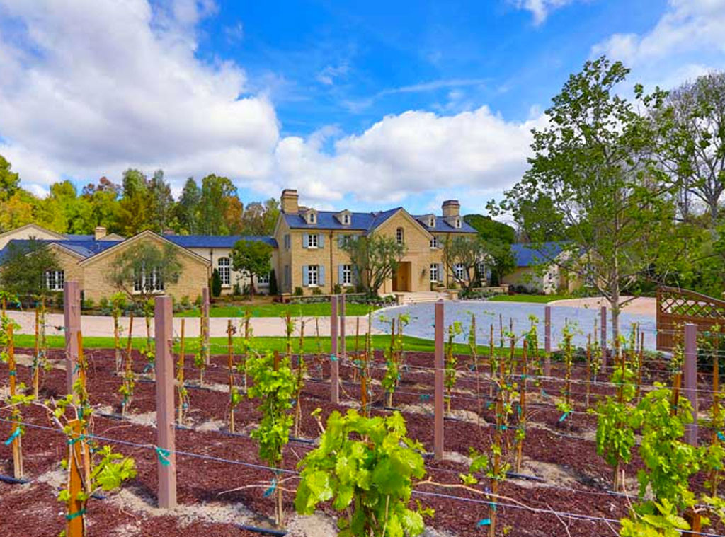 West winery from kim kardashian kanye west 39 s 20 million for Dream home source canada