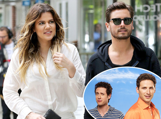 Khloe Kardashian, Scott Disick, Royal Pains