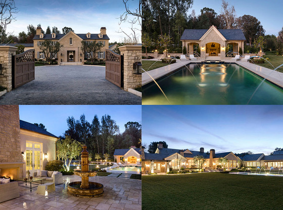 Inside kim kardashian and kanye west 39 s 20 million dream for Kanye west house address