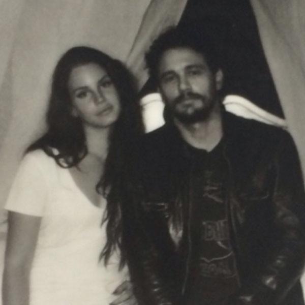 Lana Del Rey, James Franco, Instagram
