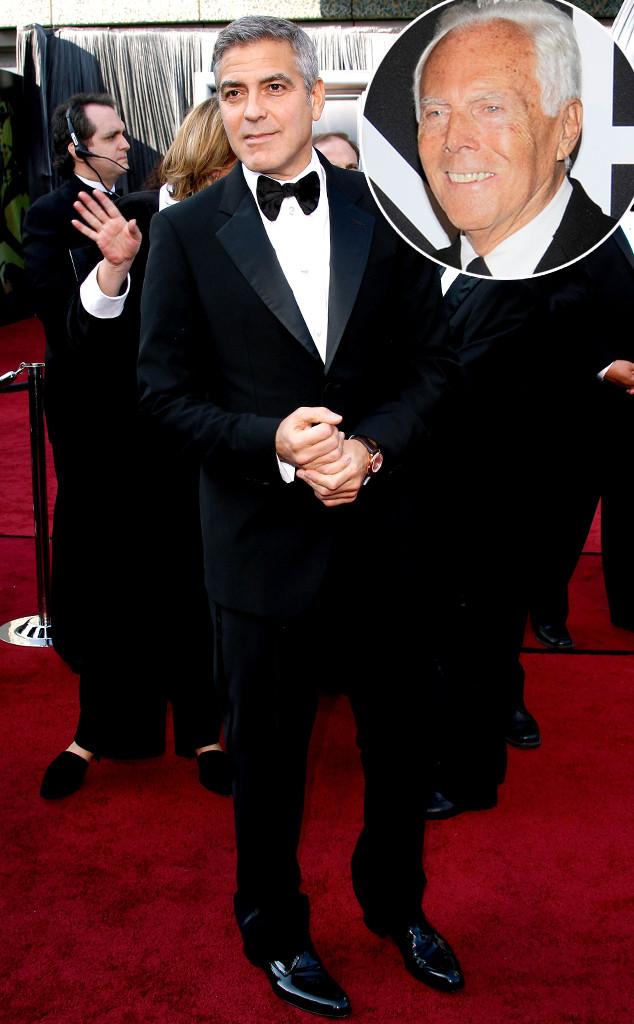 George Clooney, Giorgio Armani