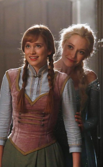 Georgina Haig, Elizabeth Lail, Once Upon a Time