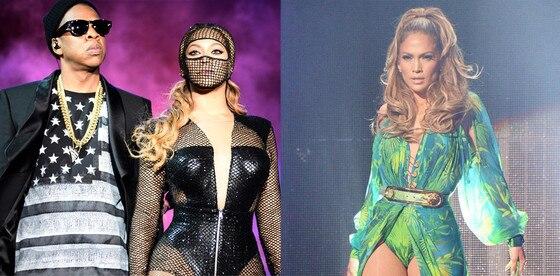 Beyonce, Jay-Z, Jennifer Lopez