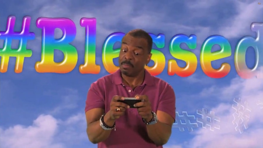 Reading Rainbow, Jimmy Kimmel Live, Tweeting Rainbow with Levar Burton