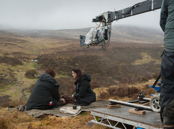 Outlander, Caitriona Balfe, Sam Heough, Behind the Scenes