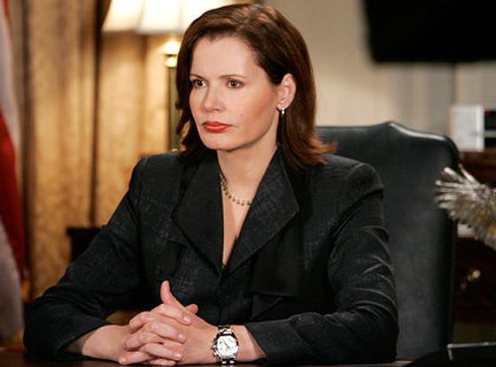 Geena Davis, Commander in Chief