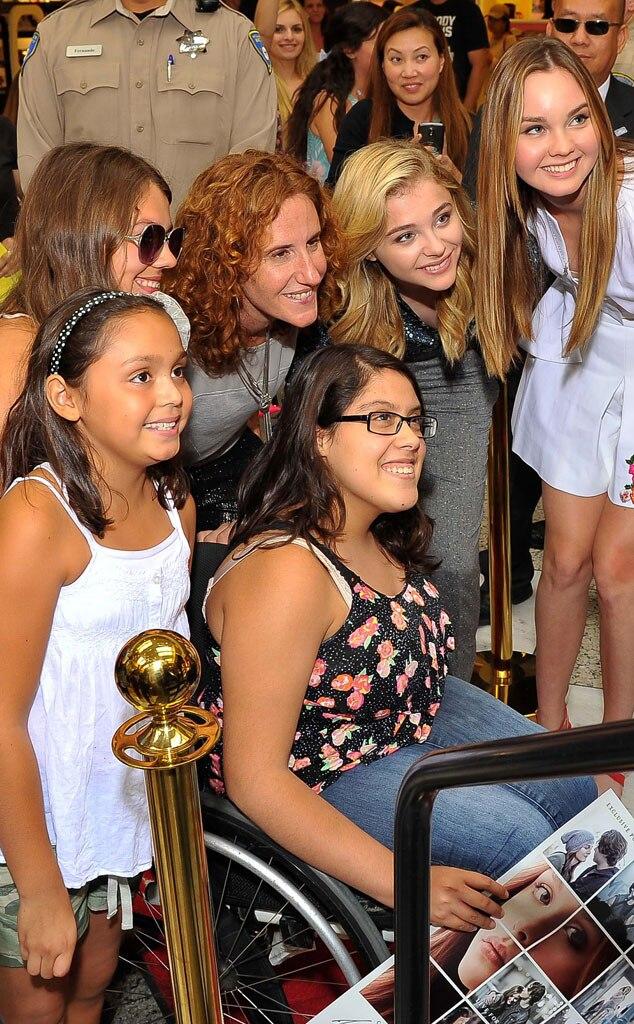 Gayle Forman, Chloe Grace Moretz, Liana Liberato