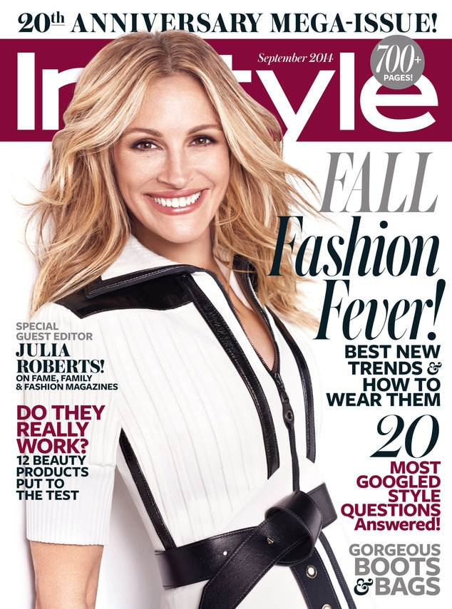 Instyle Magazine Us: Julia Roberts Thought She Was Prettier Than Halle Berry