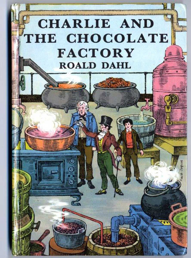 Roald Dahl, Charlie and The Chocolate Factory, 1967