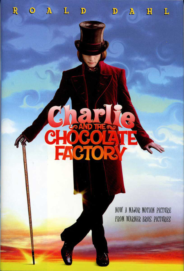 Roald Dahl, Charlie and The Chocolate Factory, 2005