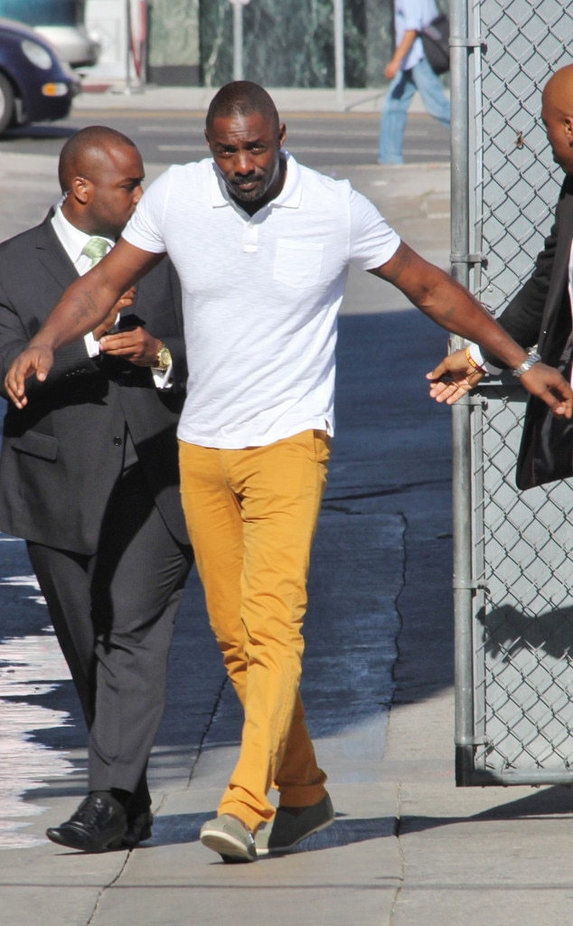 Lo And Behold From Idris Elba S Sexiest Looks E News