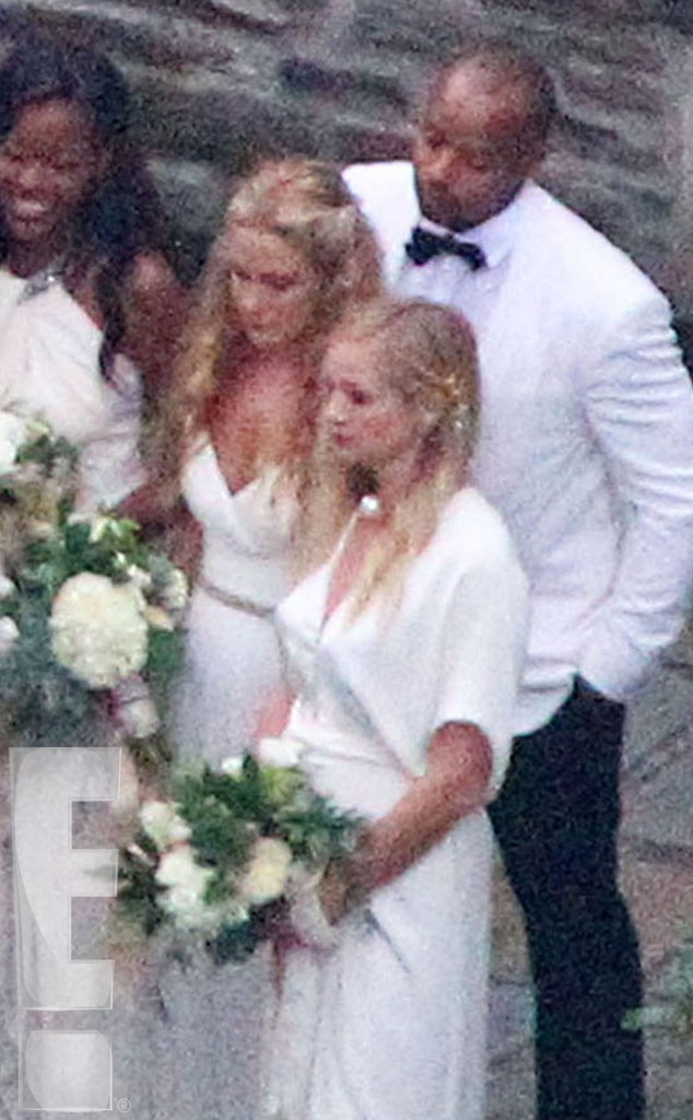 Ashlee Simpson, Evan Ross, Wedding