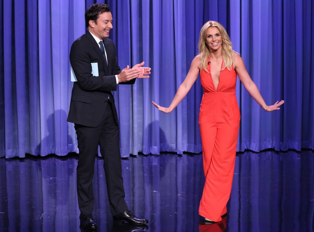 Jimmy Fallon, Britney Spears