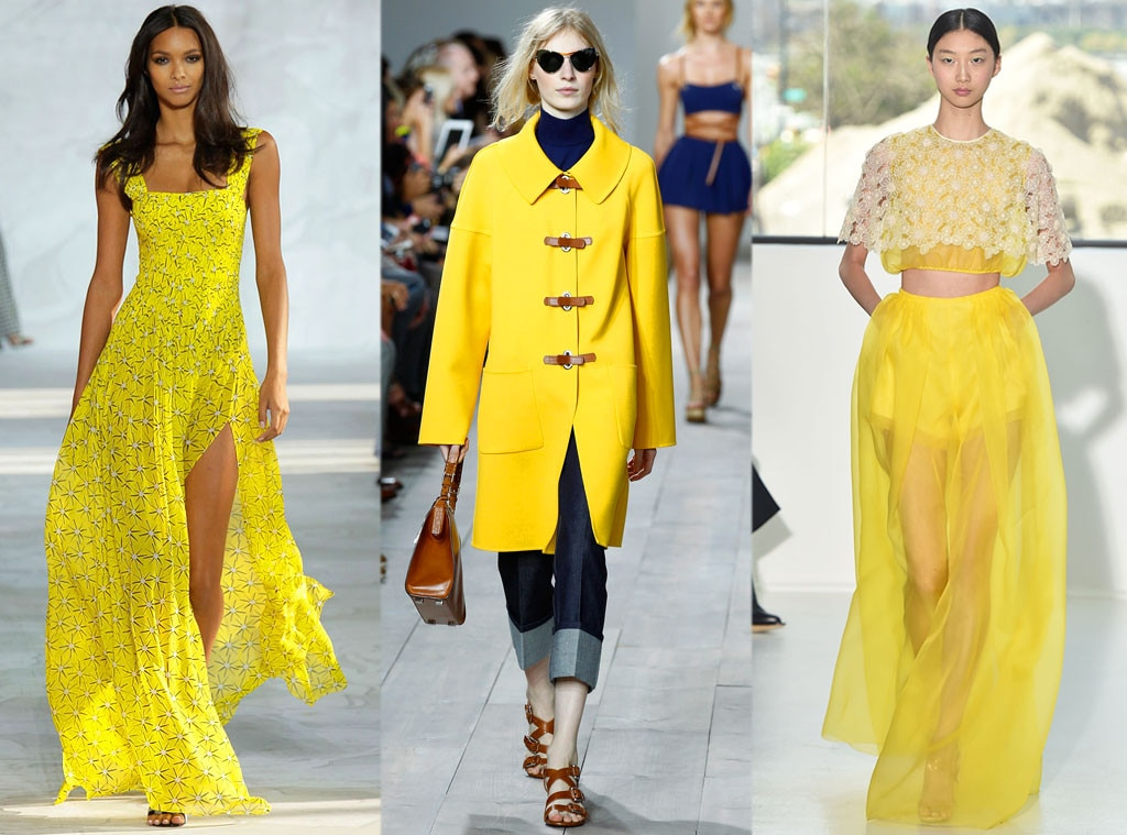 Lemon Yellow From Hottest Colors New York Fashion