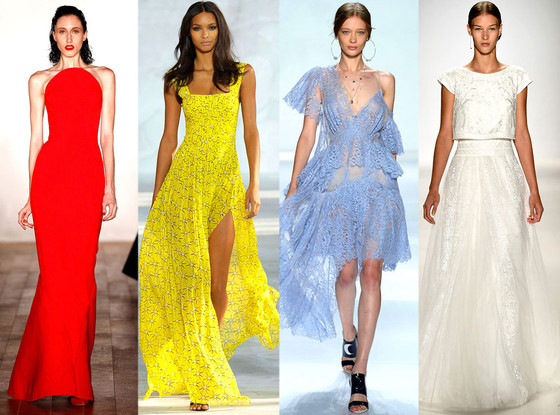 Hottest Colors from New York Fashion Week Spring 2015 ...