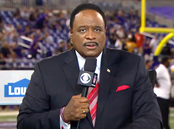 watch cbs sports 39 james brown open thursday night football with powerful speech about domestic. Black Bedroom Furniture Sets. Home Design Ideas