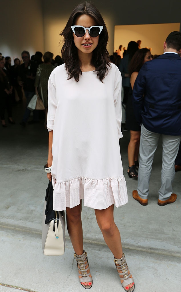 Annabelle From New York Fashion Week Spring 2015 Street