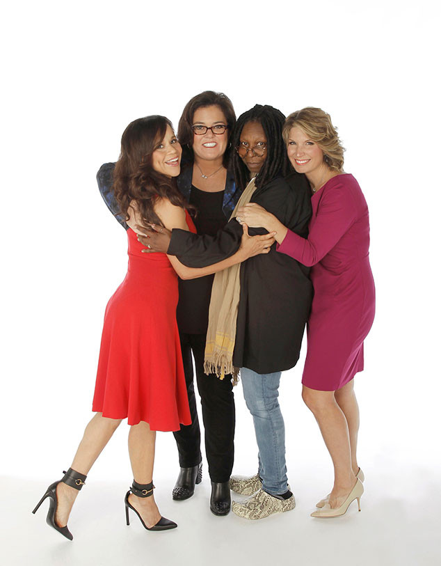 ROSIE PEREZ, ROSIE O'DONNELL, WHOOPI GOLDBERG, NICOLLE WALLACE, The View Cast