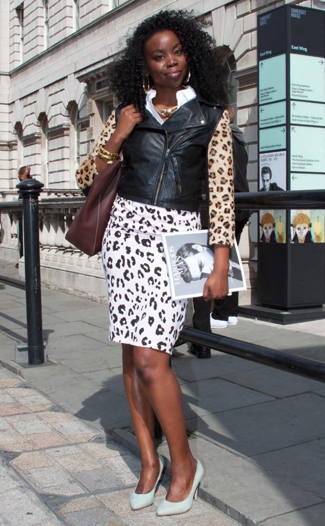 Epiphannie Amusu From Street Style London Fashion Week
