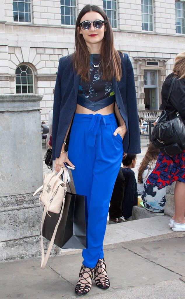 Anisa Sojka From Street Style London Fashion Week Spring