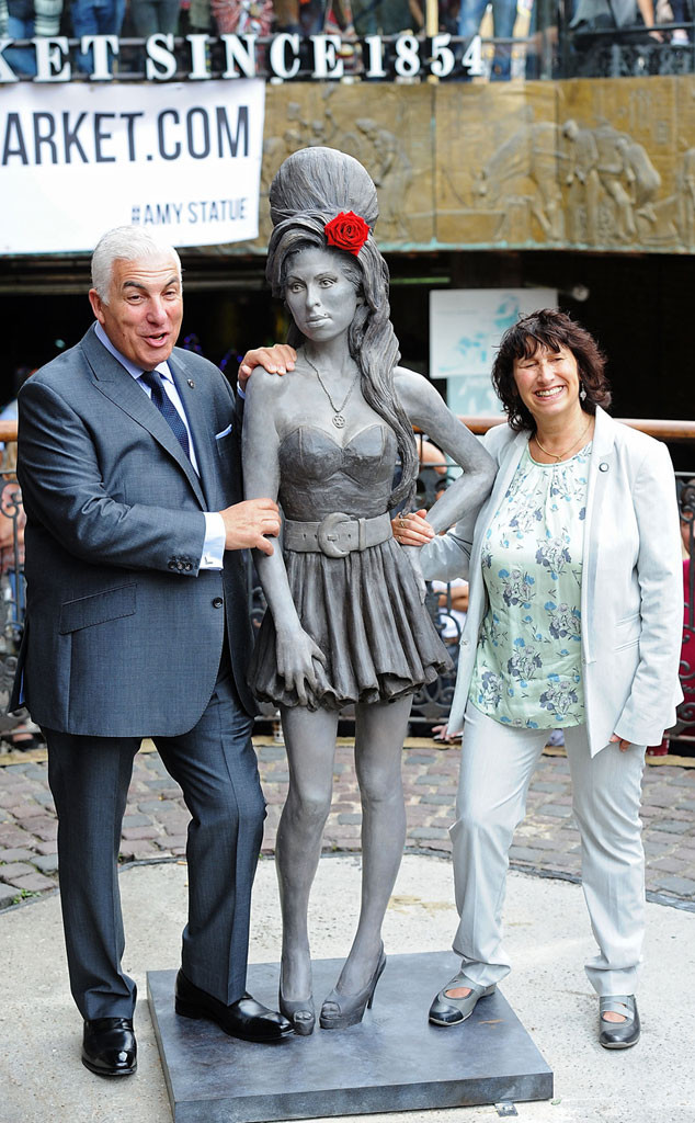 Mitch Winehouse, Janis Winehouse, Amy Winehouse