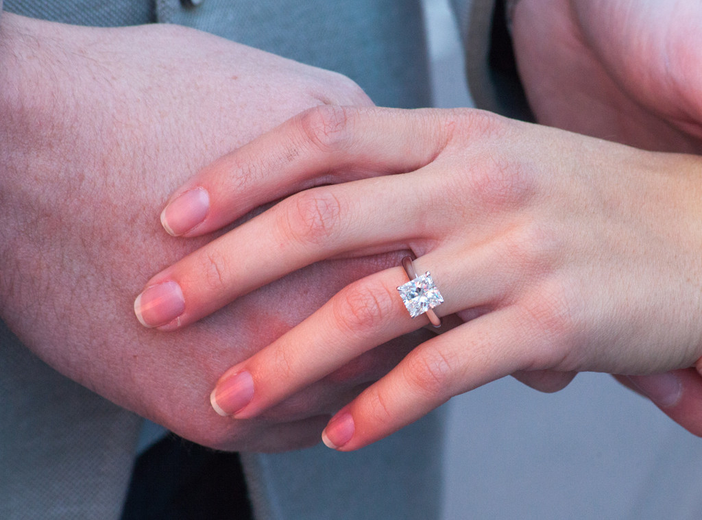 Ryan Serhant, Emilia Bechrakis, Engagement Ring