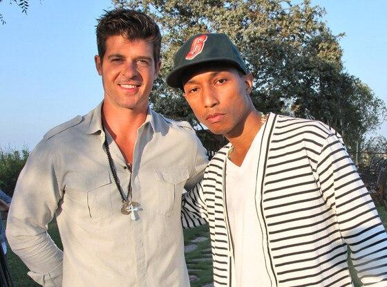 Robin Thicke, Pharrell Williams