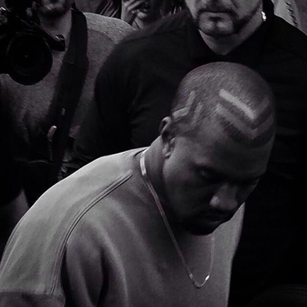 Kanye West, Hair