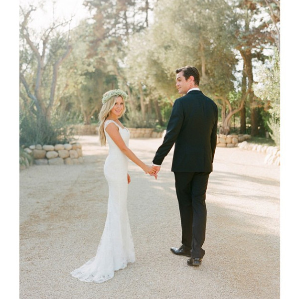 Ashley Tisdale, Christopher French, Wedding, Instagram