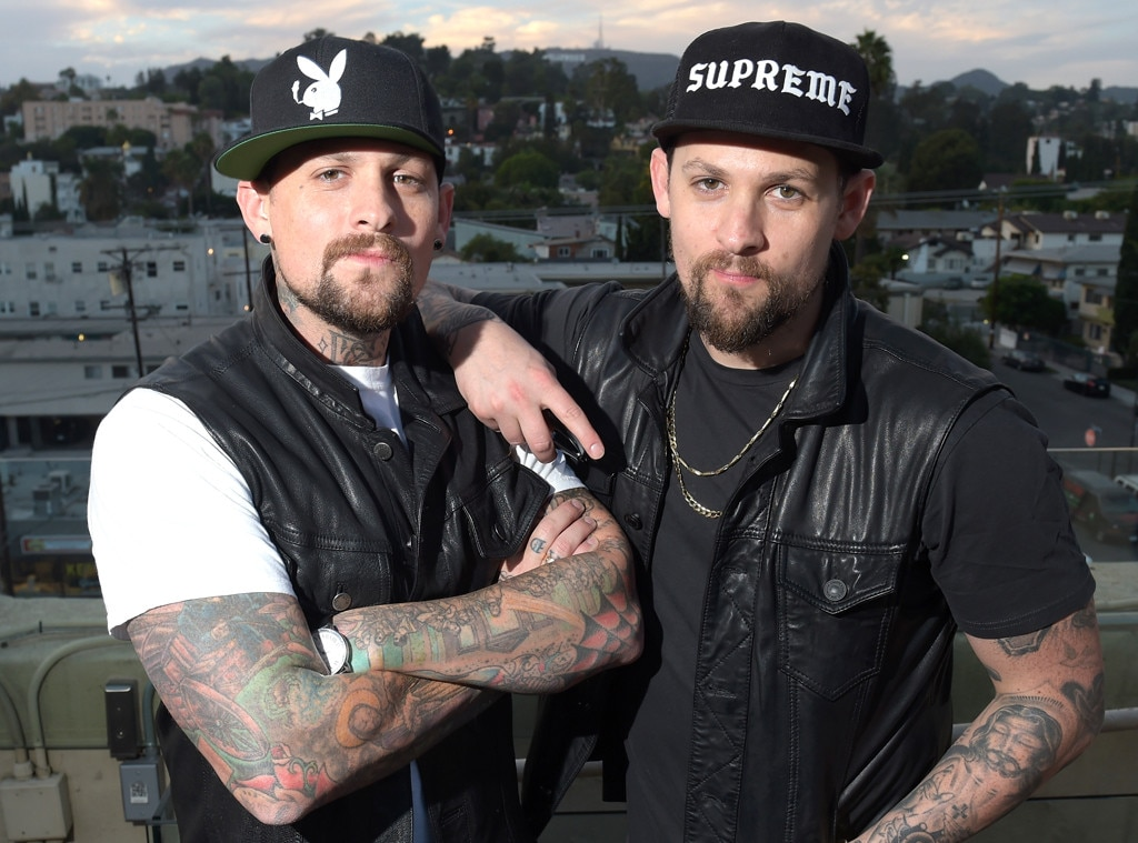 benji amp joel madden from celebrity twins e news