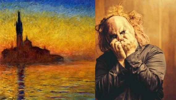 Claude Monet S Venice Twilight From The New Slipknot Masks
